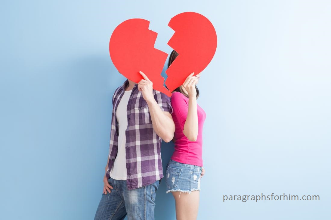 Breakup Paragraphs for Him Copy and Paste