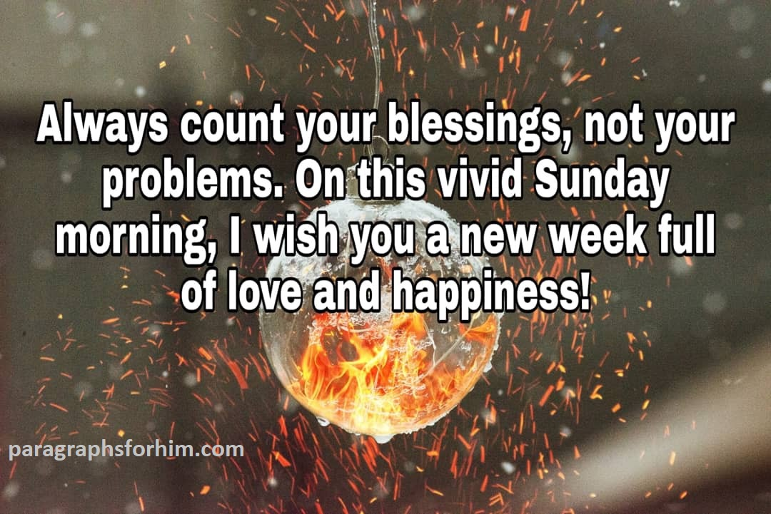 Happy Sunday Message to a Friend
